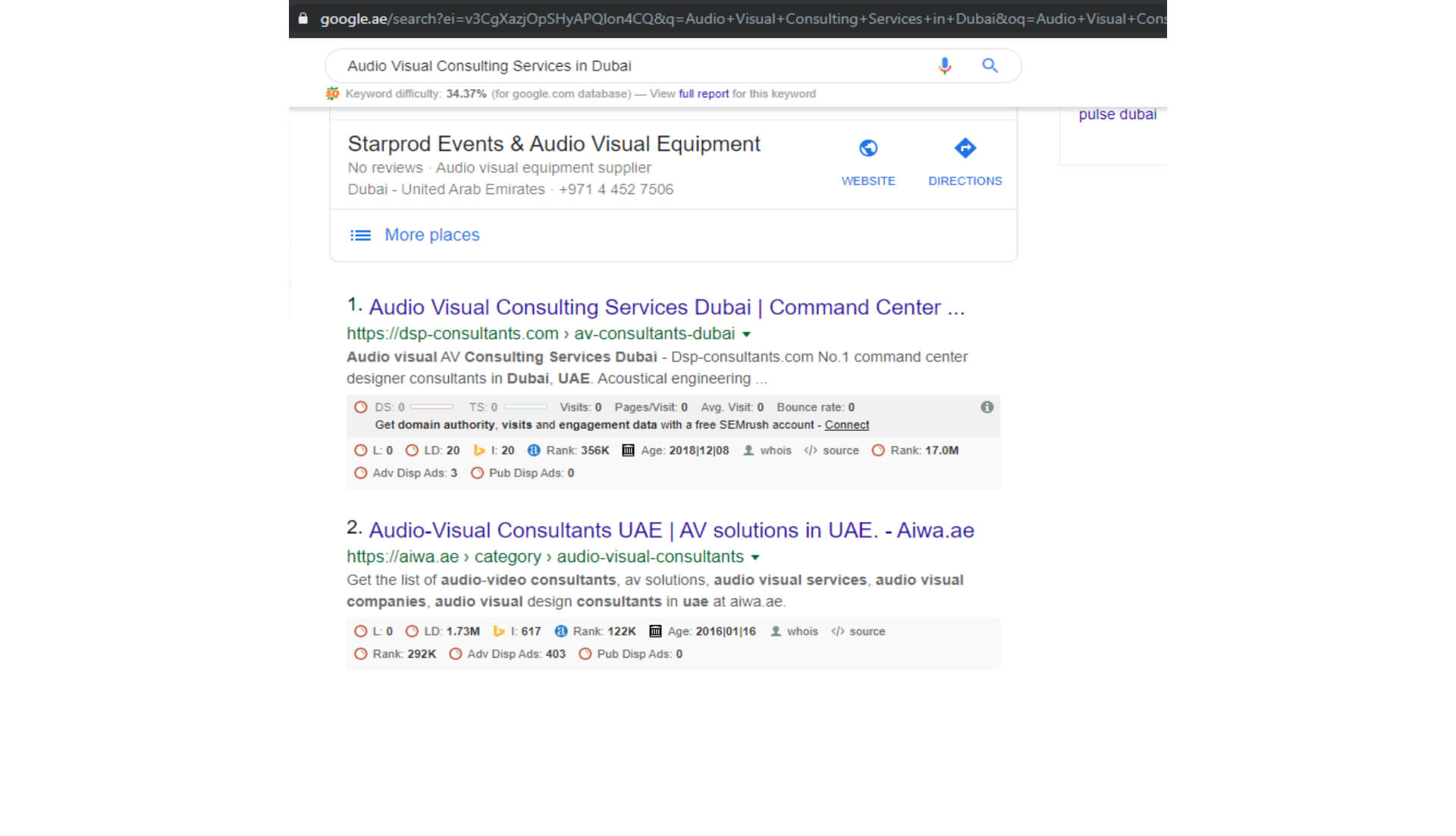 Audio Visual Consulting Services in Dubai