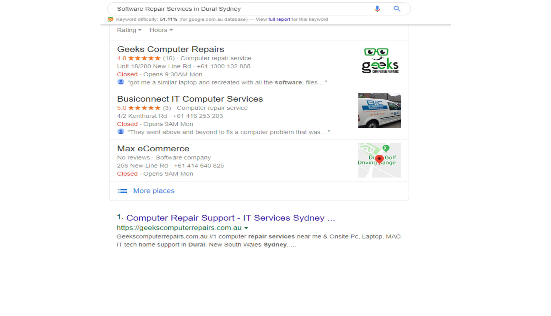Software Repair Services in Dural Sydney