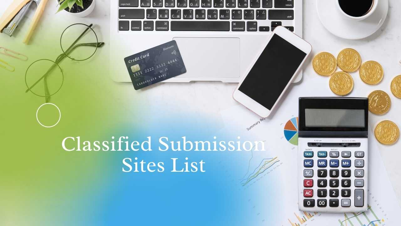 Top Free Classified Submission Sites List